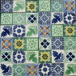 Mexican pattern tiles