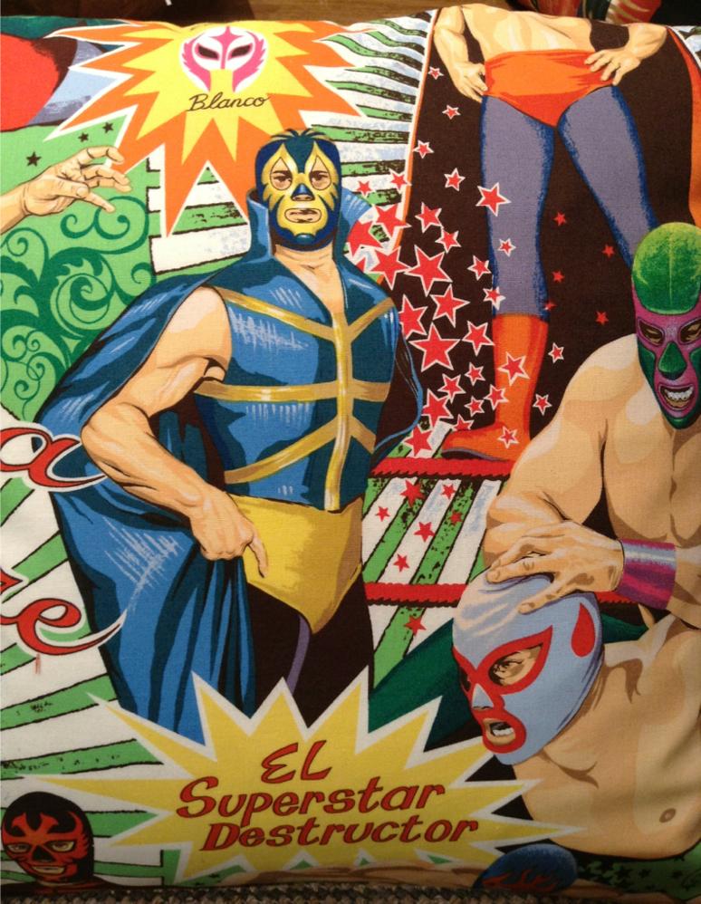 El Superstar Destructor cushion cover