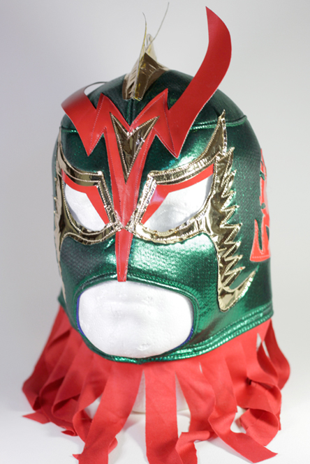 wrestling mask ultimo dragon green | Mexican Tiles ...