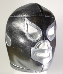 The silver mask of El Santo