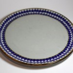 Mexican stoneware dinner plate