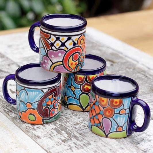 Talavera Espresso cups