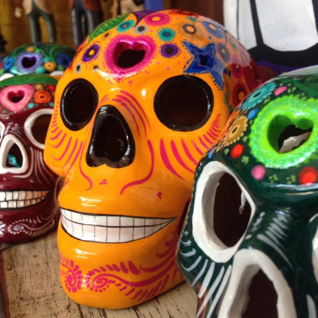 Ceramic Sugar Skulls