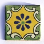 Arabesque small tile 5cm x 5cm