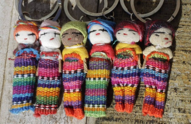 Worry Doll key rings