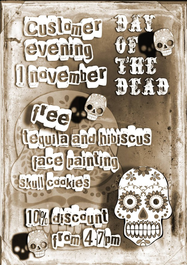 Caoba Day of the Dead Flyer