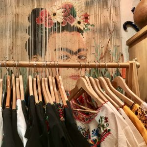 Frida beaded curtain