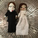 Bride and Groom Worry Dolls